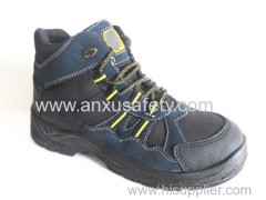AX05016 suede leather hiking safety shoes