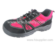 AX05017 suede leather safety shoes