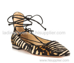 customed design strappy lace up mulheres shoes