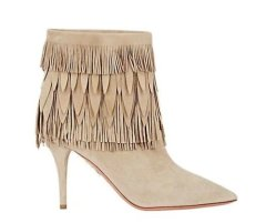 Ladies stiletto heel bpots with tassels