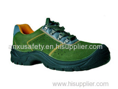 AX03005 suede leather upper safety shoes