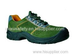 scarpe di sicurezza superiore AX03005 pelle scamosciata