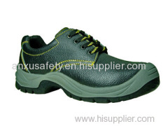 AX03006 split emboss leather safety shoes