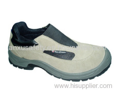 AX03008 suede leather upper safety shoes