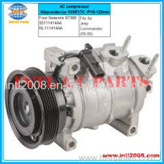 Four Seasons 97399 AC compressor Nippondenso 10SR17C -PV6-120mm