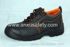CE safety footwear leather upper safety shoes