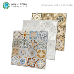 Moroccan Antique Bathroom Handmade Encaustic Cement Flower Design Wall Tile 3d Ceramic Tile