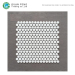Glossy And Matt Wall Tile Design Penny Round Glass Mosaic Medallion Floor Patterns