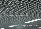 Ventilative Suspended Grid Ceiling System / Aluminium Grid Ceiling