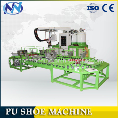 HOT SALE PU pouring shoe making machine