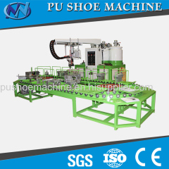 PU PORING SHOE MOULDING MACHINE FROM CHINA