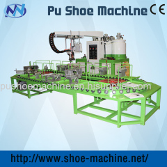 JG safety shoes machines