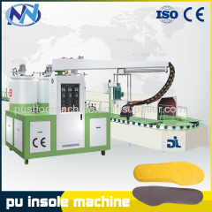 pu shoe pouring machine