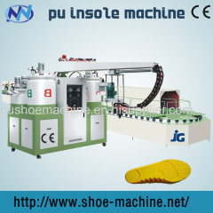 JG full automatic pu sole pouring machine