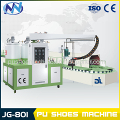 pu shoe making machine