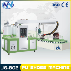machine for making leather shoe