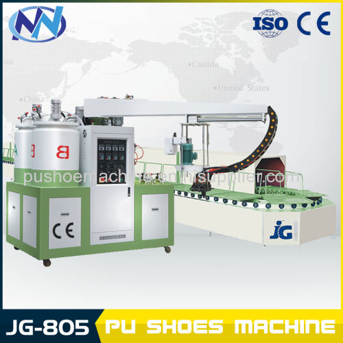 60 stations producing line shoe machine