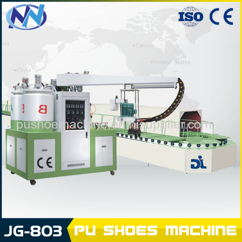 JG803 two head PU Shoe making machine