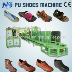 pu moulding machine for safety shoe