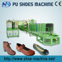 PU injection moulding machine