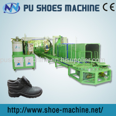 PU Shoe making machine for labor safety shoe