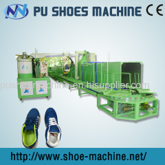 pu pouring machine for man shoe produce line