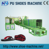 JG merk PU sandalen making machine