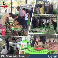 Polyurethane Shoe making sole Pouring Machine