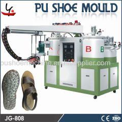 pu shoe-making machine for sandals slippers
