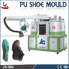 JG brand PU Shoemaking machine