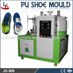 plastic shoe making machine