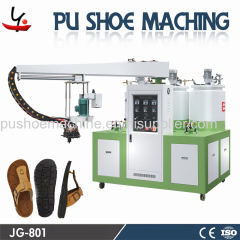 PU slipper sandal injection machine