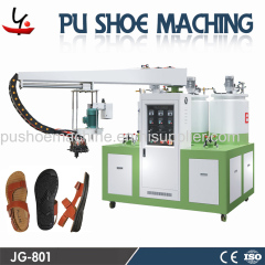 injection machine for shoe