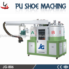 PU shoe injection machine for sandals