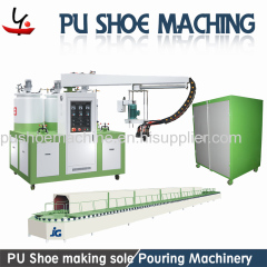 pu shoe footwear manufacturing machine