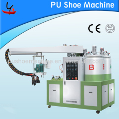 PU Double density small shoe making machine