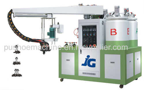 60 stations producing line pu shoe machine