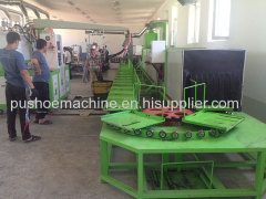 pu shoe-making machine for safety shoe
