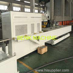110-250mm automatic PVC pipe belling machinery