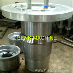 PVC pipe socket making machine plastic belling pipe bell machine