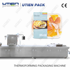 sea ​​food packaging de thermoformage Machine