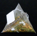 Pyramid Nylon Mesh Tea Bag Packing Machine with Measuring Cup