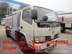China best quality dongfeng brand 5m3 oil dispensing truck for sale