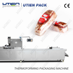 Professional High Speed thermoforming fresh meat Pack Machine