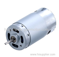 High Speed Carbon Brush DC Motor