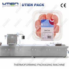 Automatic Chicken breast packing machin thermoforming