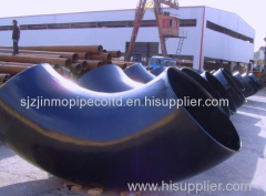 Wholesale Plumbing Materials Black 90-degree Steel Pipe Elbow
