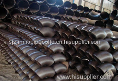 Manufacturer preferential supply High quality Carbon Steel Pipe Elbow