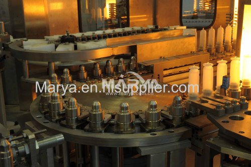 Pharmaceutical plastic bottle I.V. blowing machine manufacturer
