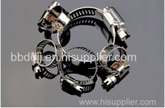 stainless steel 304 hose clamp with handle